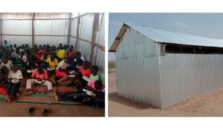 Escola bíblica para refugiados